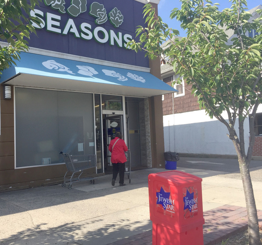 The Seasons store on Central Avenue in Lawrence.