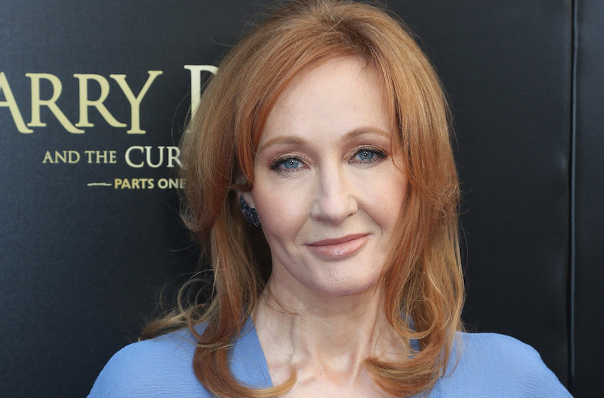 """J.K. Rowling at the opening of """"Harry Potter and The Cursed Child parts 1 & 2"""" on Broadway on April 22, 2018."""