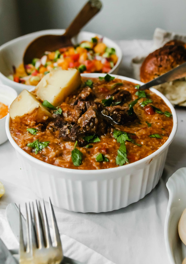 Bukharian rice dish