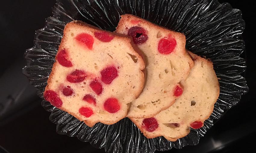 Chanukah cherry cake