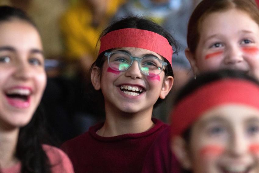 Color War at Yeshiva Har Torah.