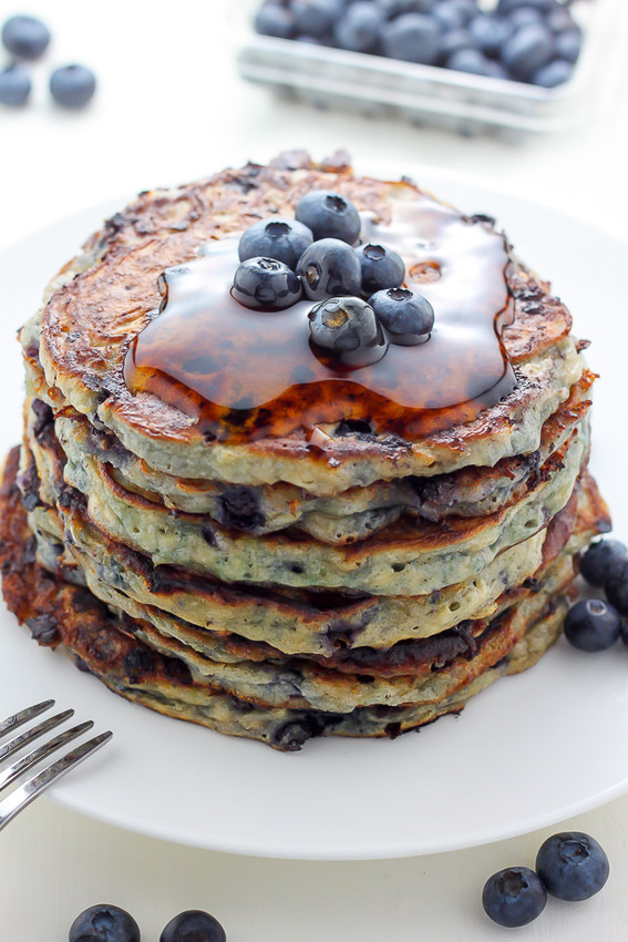 Low fat cottage cheese pancakes.