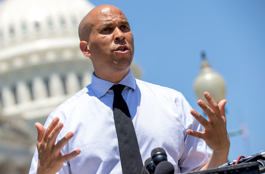 Sen. Cory Booker (D-NJ) in Washington on July 10, 2018.