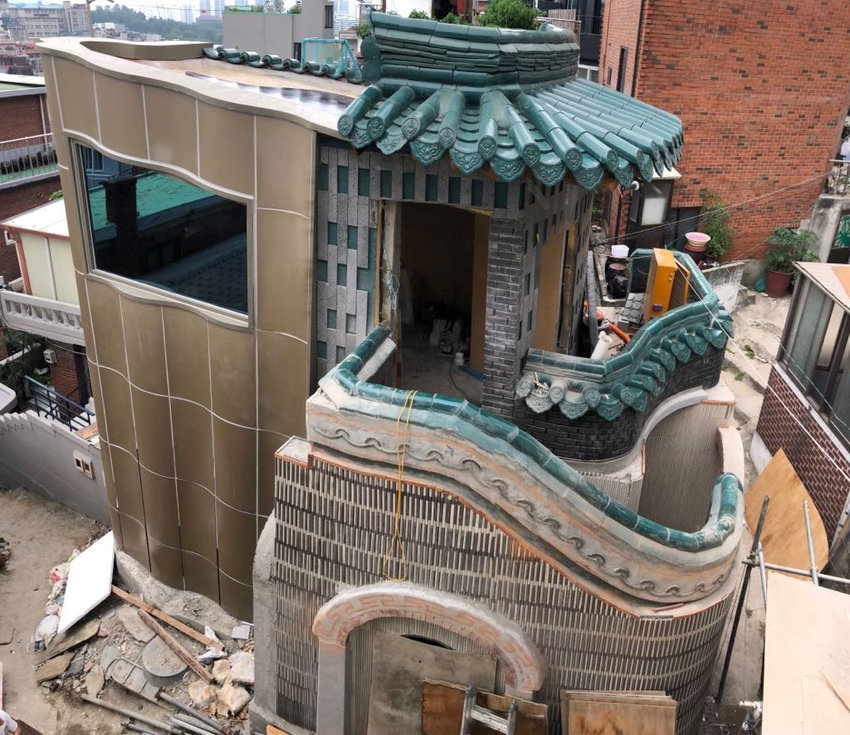 Korea's first mikvah, which is expected to open in a few weeks.