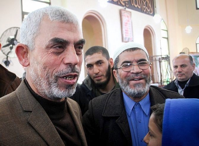 Yahya Sinwar, leader of Hamas in Gaza.