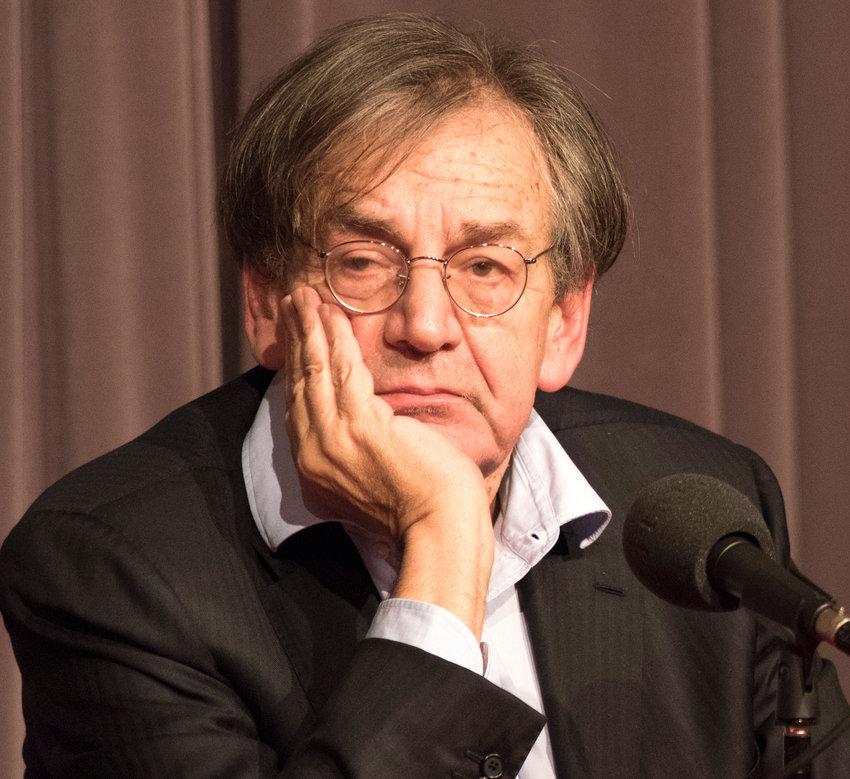 Philosopher Alain Finkielkraut. Jewish in France.