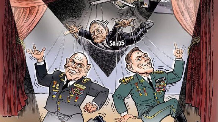 A cartoon by Ben Garrison, who was invited to the White House social media summit scheduled for July 11
