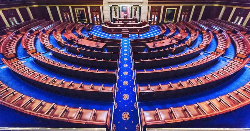 A view inside the House of Representatives in 2017.