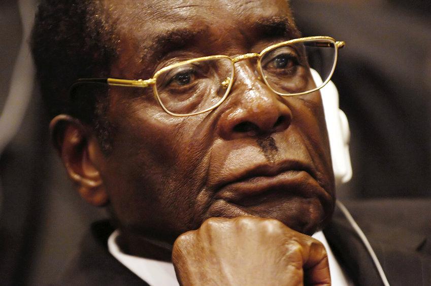 President of Zimbabwe Robert Mugabe in 2008.