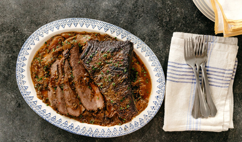 Molly Yeh's Brunch Brisket.