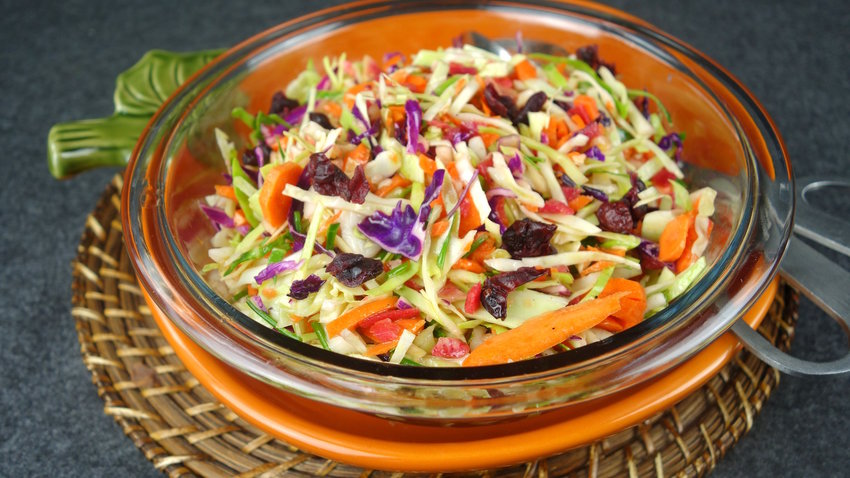 Confetti Cole Slaw with 'Good Stuff' and 2 Dressings
