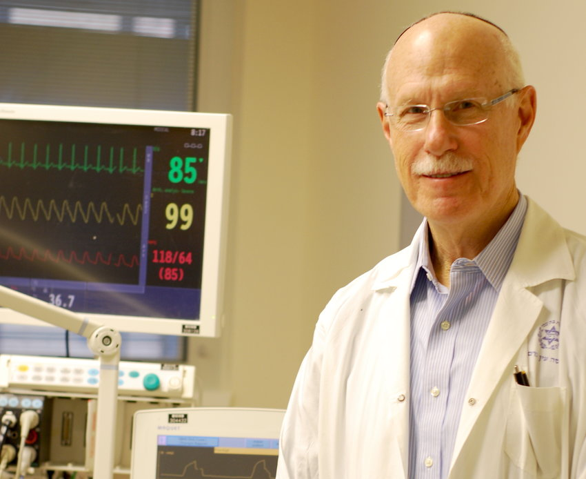 Dr. Charles Sprung, director emeritus of Hadassah Hospital.