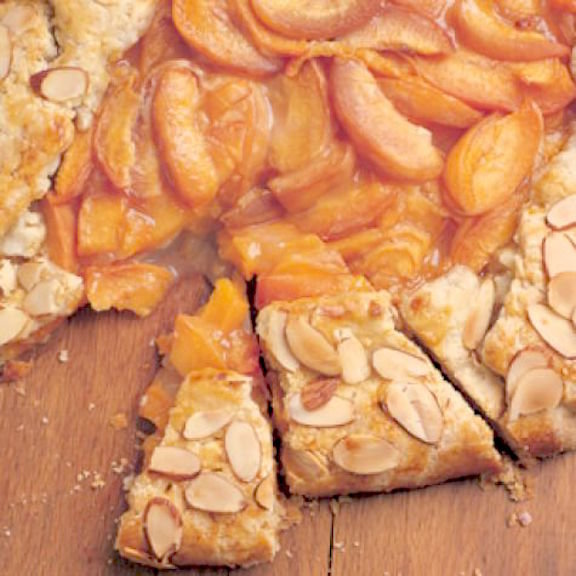 Almond Apricot Galette