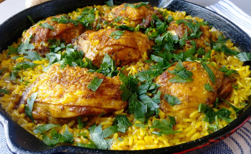 Easy Skillet Ginger Turmeric Chicken
