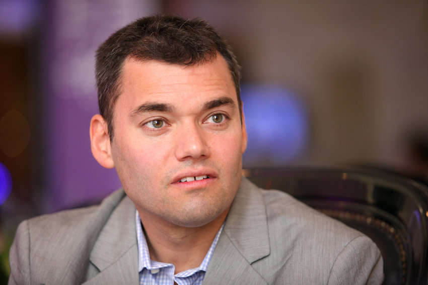 Peter Beinart, pictured in Israel in 2012, now advocates for one state with equal rights encompassing Israelis and Palestinians.