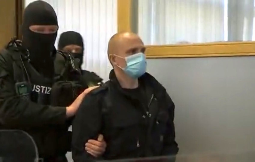 Stephan Balliet, the German neo-Nazi who mounted an armed attack on a synagogue in the city of Halle last Yom Kippur.
