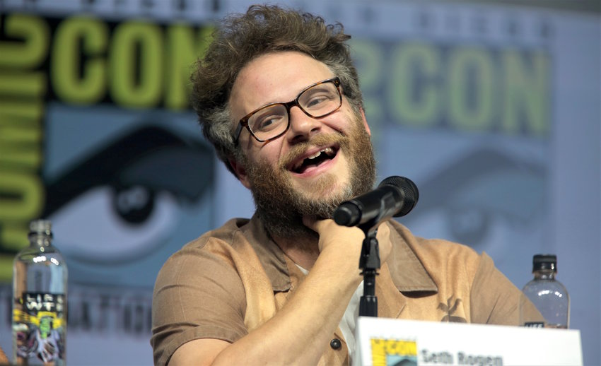 Seth Rogen at the San Diego Comic Con International in July 2018.