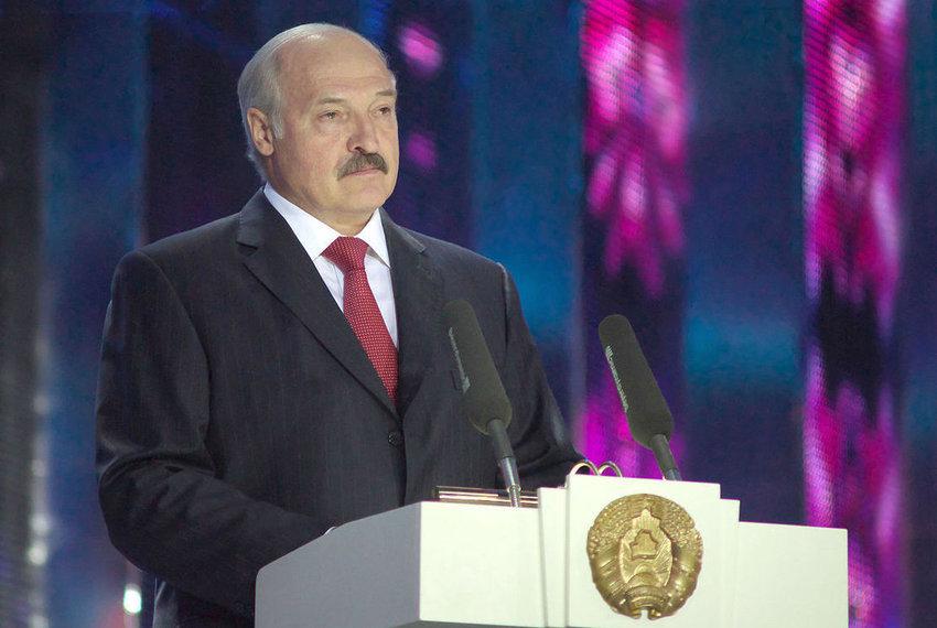 Belarus President Alexander Lukashenko.