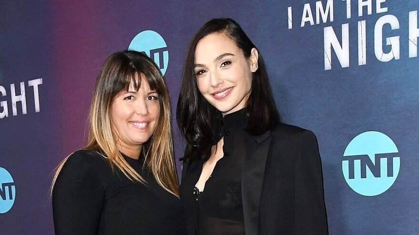 "Israeli actress Gal Gadot (right) with Patty Jenkins, who is directing a new ""Cleopatra"" film."