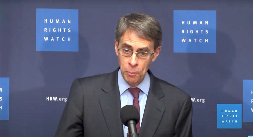 Human Rights Watch executive director Kenneth Roth.