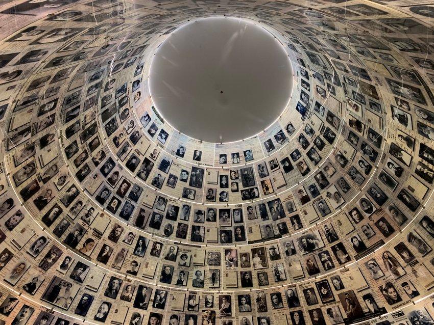 Yad Vashem's Hall of Names.