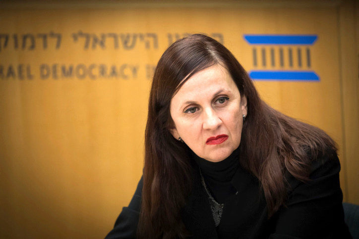 Dina Zilber, Deputy Legal Councillor to the Israeli government, at the Israel Democracy Institute in Jerusalem Nov. 21, 2018.