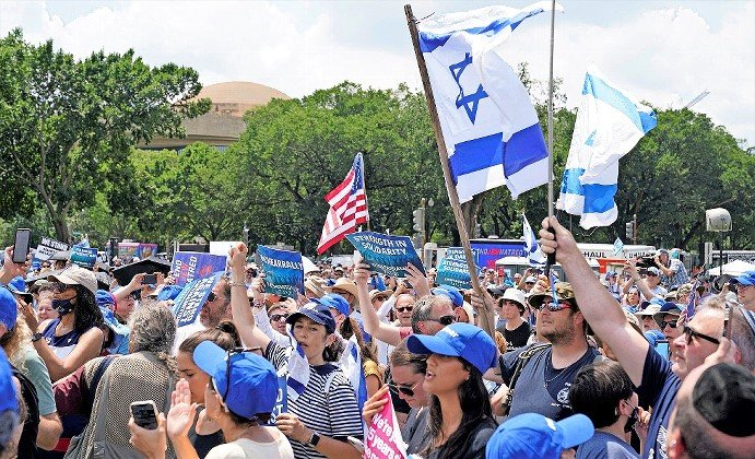 A Washington rally against Jew-hatred struck many of the right notes, but the disappointing turnout —3,000 at most — pointed to Jewish divisions.