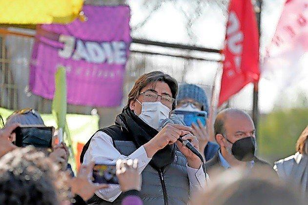 Chilean presidential candidate Daniel Jadue.