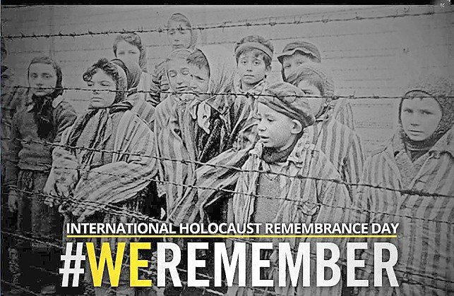 Holocaust Remembrance Day tribute.