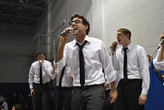 Maccabeats in concert at Manhattan Day School on Dec. 2.