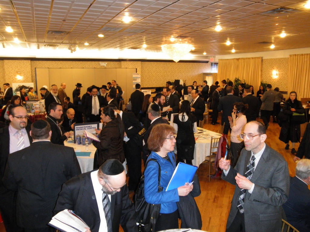Job seekers and employers pack the OU Job Fair in Brooklyn