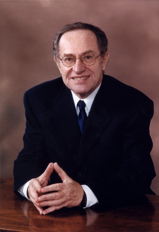 Famed attorney and columnist Alan Dershowitz, an alum of Yale Law School.