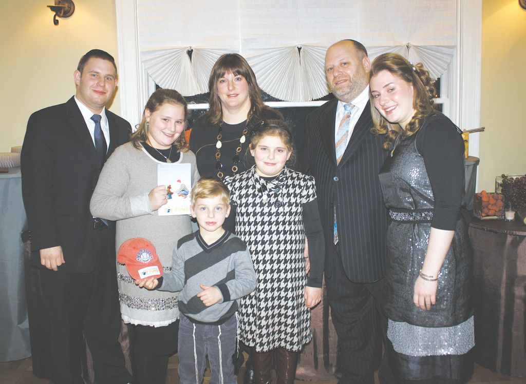 The Schoenfeld family of Woodmere hosted supporters of their annual Ossie Schoenfeld Memorial Toy Drive, collecting toys for sick children in Israel. 