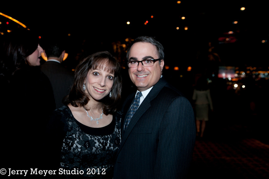 Drs. Karen and Adam Lish, Chairman of the Board, enjoy the evening.