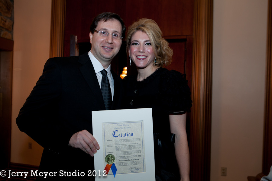 Yachad awardees Miriam and Avi Kestenbaum