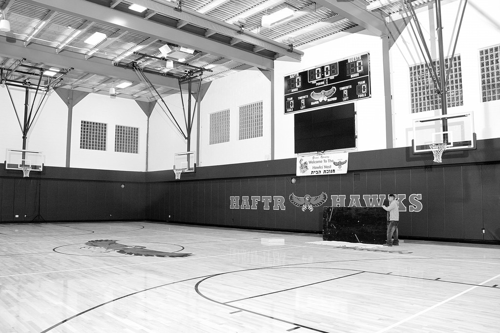 HAFTR hawks have a new home court advantage  thanks to the generosity of parents' donations.