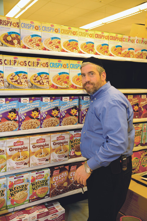Howie Klagsburn and the Gourmet Glatt staff are preparing for the major onslaught of shoppers  with a wide variety of  Pesach products.