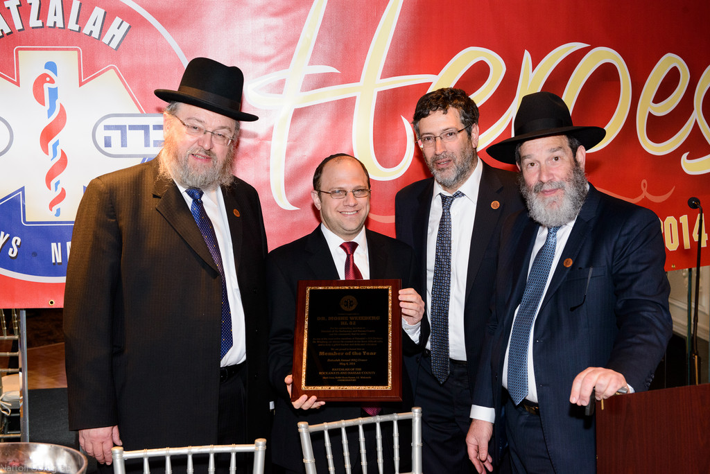 Dr. Moshe Weizberg was awarded Member of the Year honor.