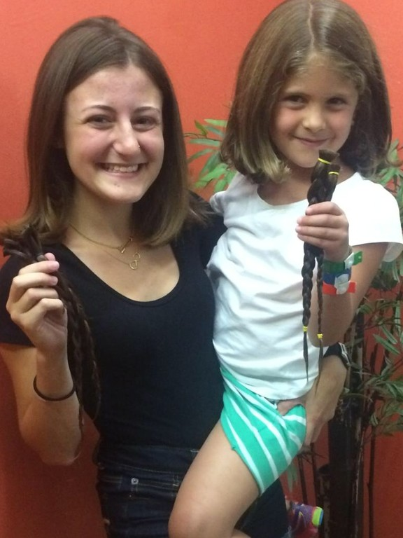 Hair For Kids Woodmere Cousins Clipped For Cause The Jewish Star