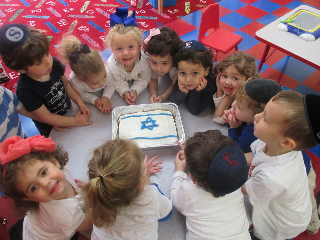 Yom Haatzmaut at the Early Childhood Center of the Five Towns JCC.