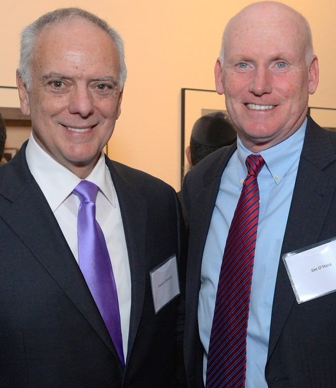 Calvary President and CEO Frank Calamari and 92nd Street Y CFO and Calvary board member Jim O'Hara.