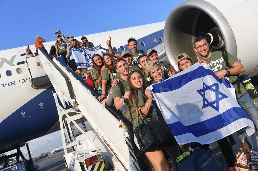 American olim arriving in Israel last week who are now preparing to join the IDF.