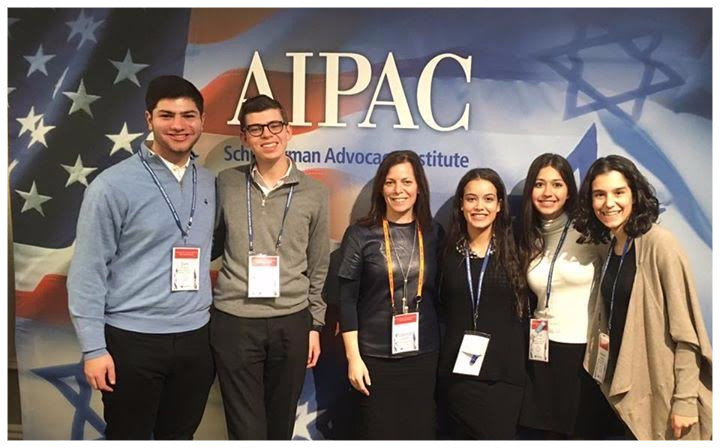 HANC students at AIPAC Schusterman Advocacy Institute.