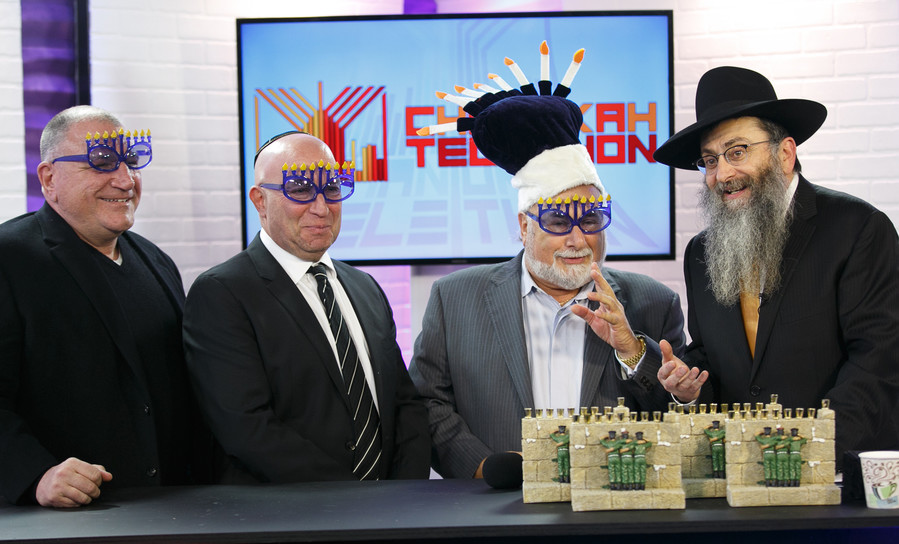 John Allen, Jerry Gedacht, Steve Greenberg and Rabbi Perl