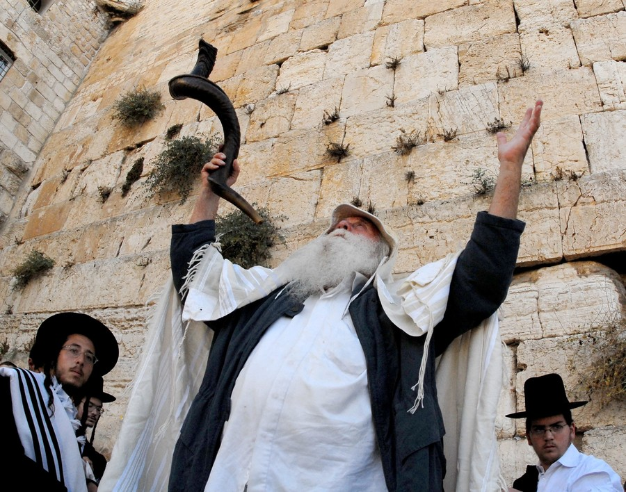Slichot prayer the Kotel.