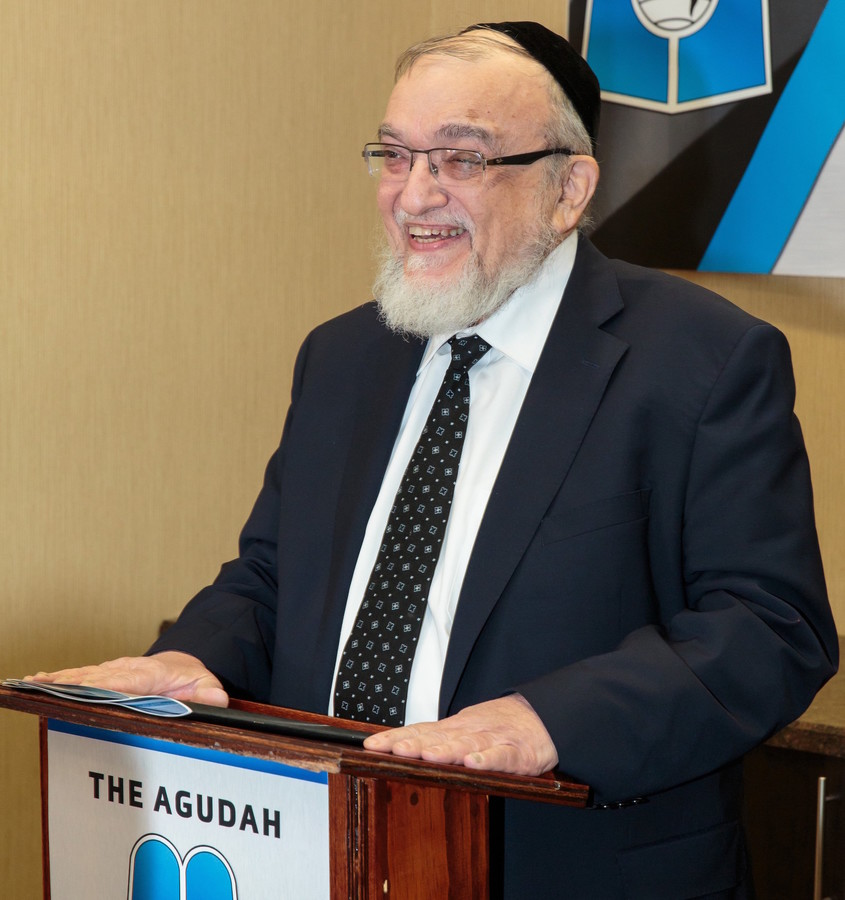 Agudath Israel Vice President for Community Affairs Rabbi Shmuel Lefkowitz.