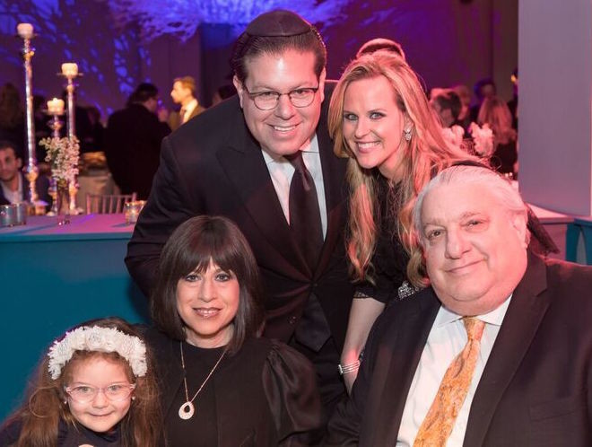 Avi and Pessi Goldstein with Avi's parents, Tuli and Mattie Goldstein, and niece Ariella Goldstein.