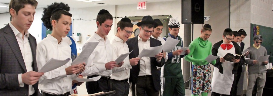 In just 30 days, these DRS boys learned to read the megillah.