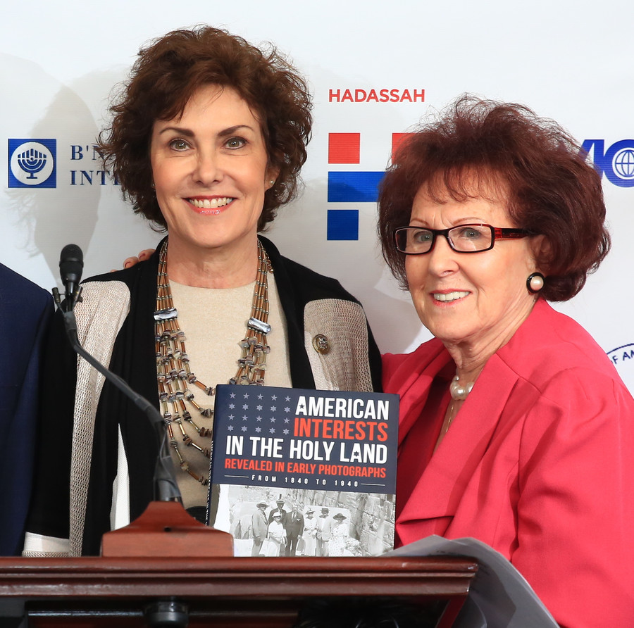 Rep. Jacky Rosen (R-NV) with former Hadassah National President Marlene Post.