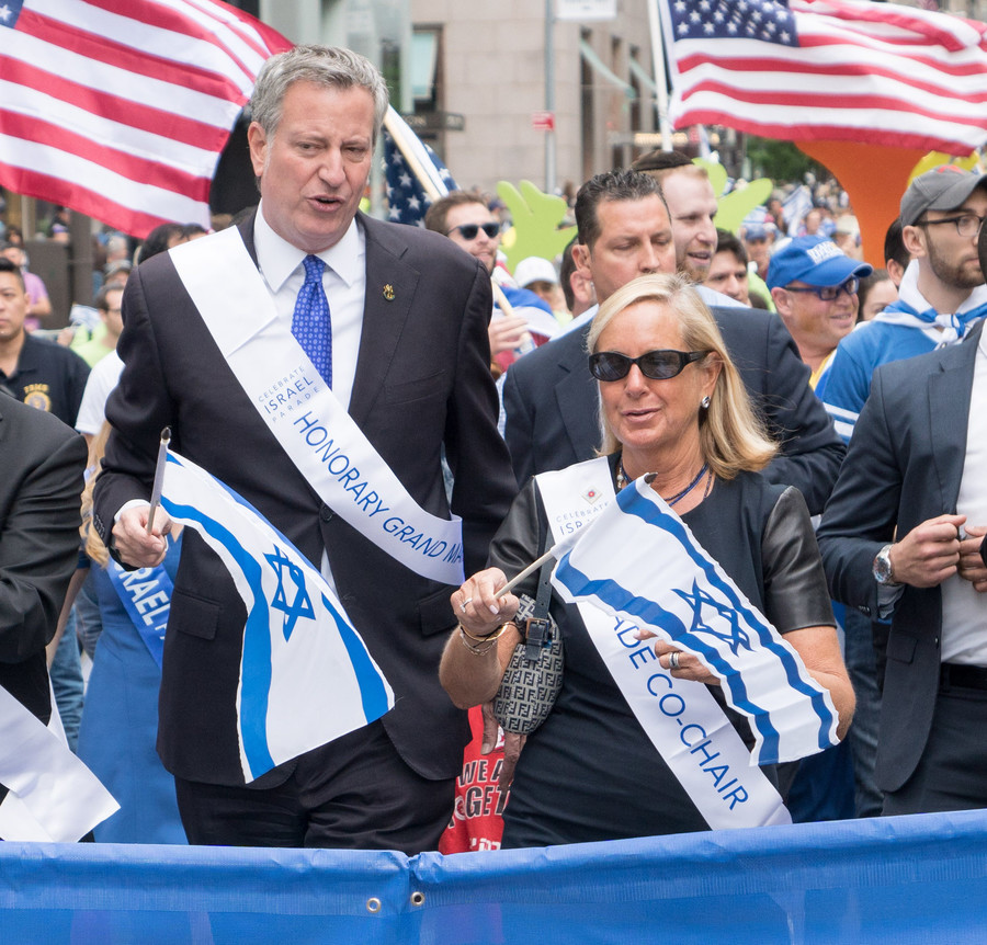Mayor Bill deBlasio.